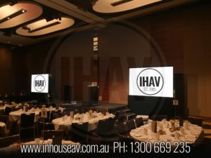 Hilton Brisbane Projection Screen Hire