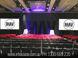 Hilton Sydney Projection Screen Hire