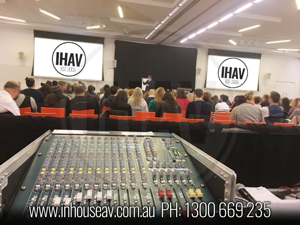 IHAV - Operators area Audio Visual Hire   2