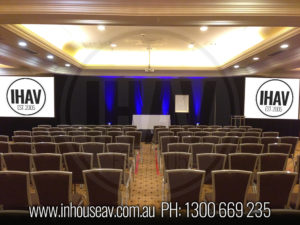 Menzies Hotel audio visual hire