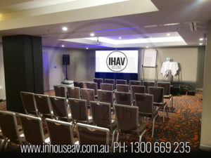 Novotel Canberra Projection Screen Hire