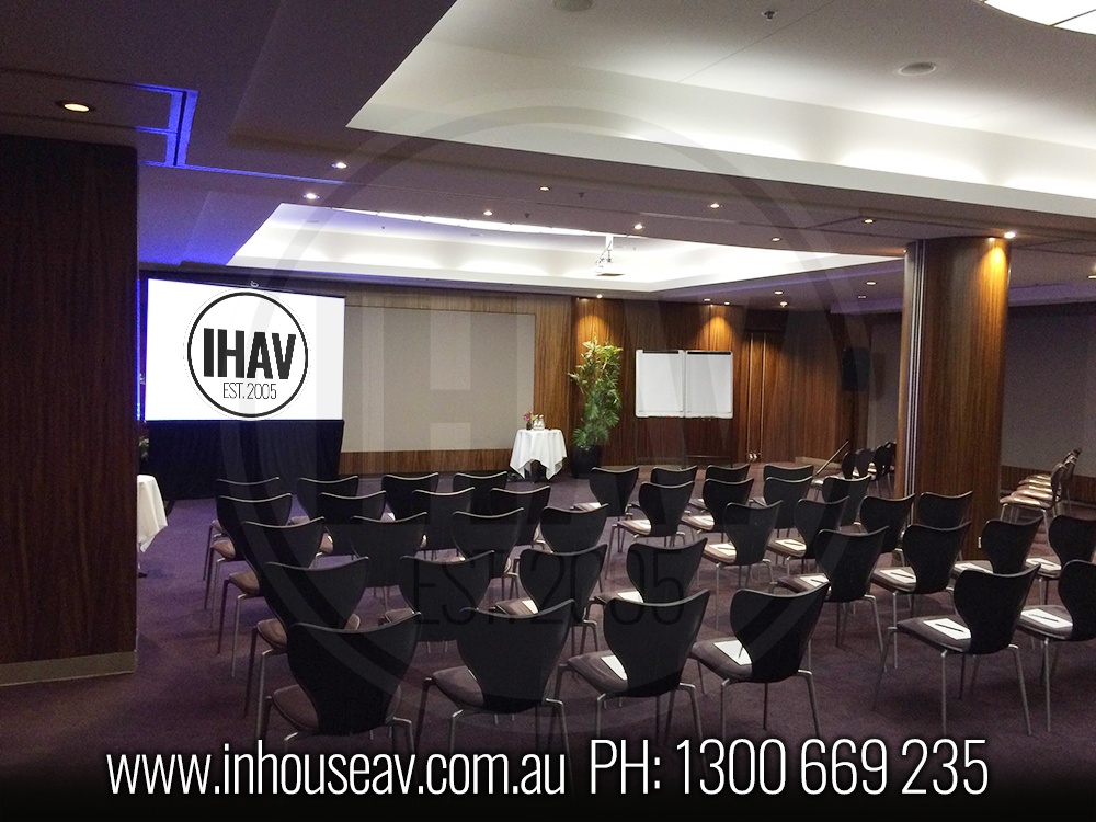 Pullman Quay Grand Sydney Projection Screen Hire