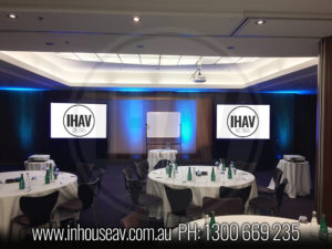 Pullman Quay Grand Sydney Harbour Projection Screen Hire