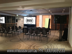QT Gold Coast Projection Screen Hire