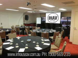 Rydges World Square Projection Screen Hire