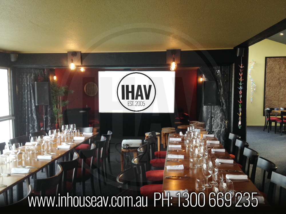 Spice Bar Mooloolaba Projector Hire