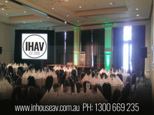 Stamford Plaza Adelaide Projection Screen Hire