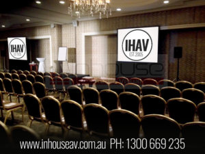 Stamford Plaza Brisbane Projection Screen Hire
