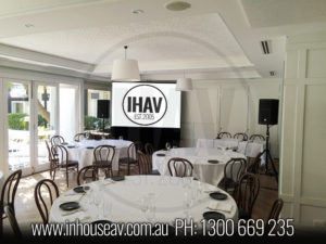 Hughenden Boutique Hotel Audio Visual Hire