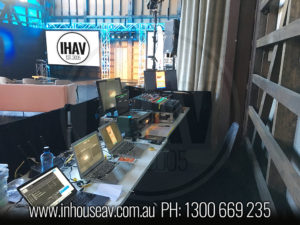 IHAV Behind The Scenes Audio Visual Hire 13