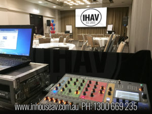 IHAV Behind The Scenes Audio Visual Hire 7