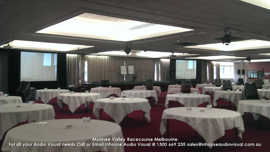 Moonee Valley Race Course Audio Visual Hire