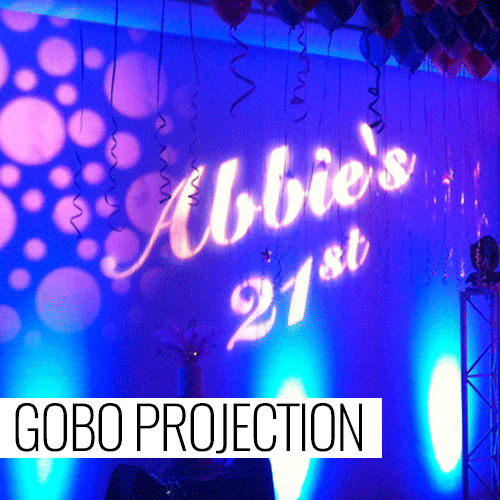 Gobo-Projection