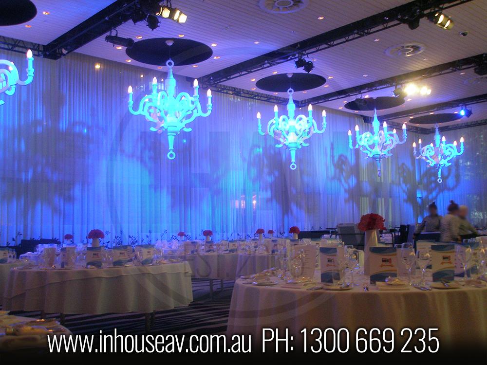 Ivy Ballroom Effect Lighting