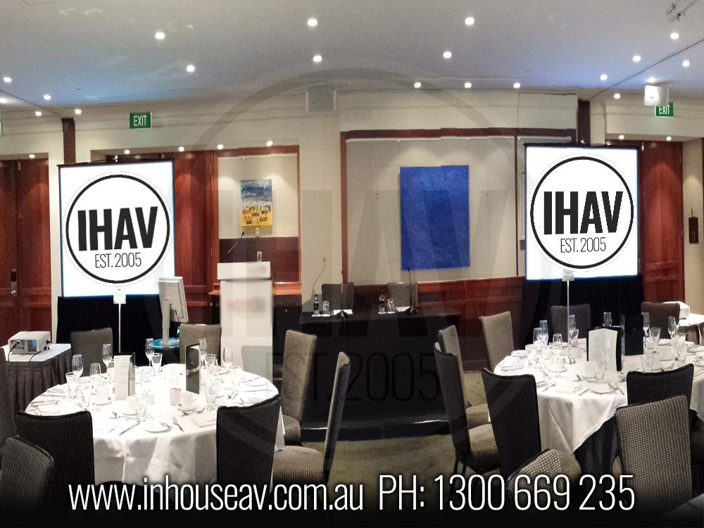 Four Seasons Hotel Sydney Audio Visual Hire 4 Inhouse