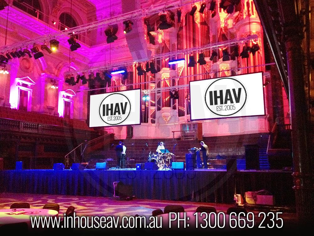 Sydney Town Hall Audio Visual Hire 4