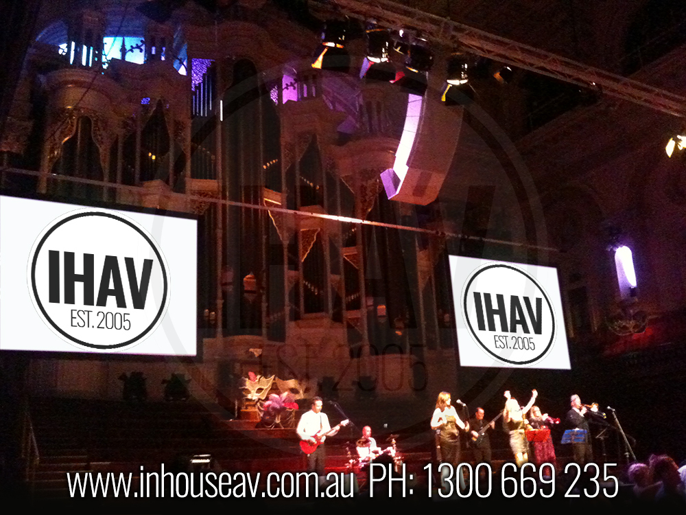 Sydney Town Hall Audio Visual Hire 9