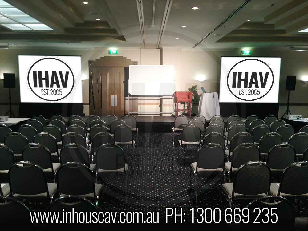 Bayview Eden Projection Screen Hire