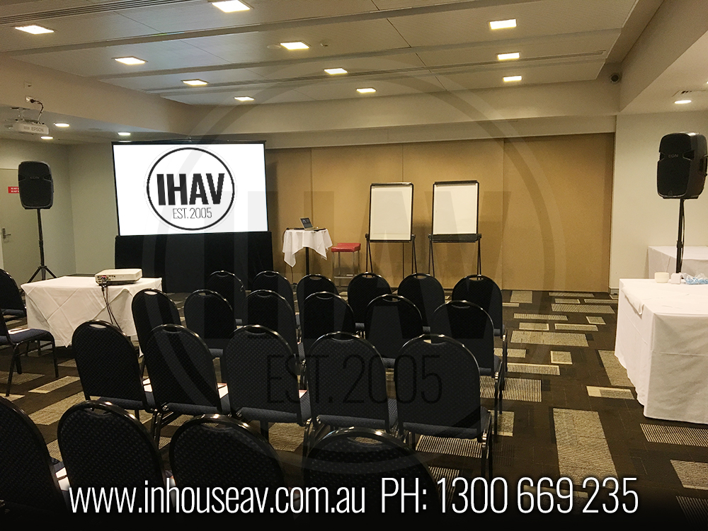 Colmslie Hotel Brisbane Projection Screen Hire
