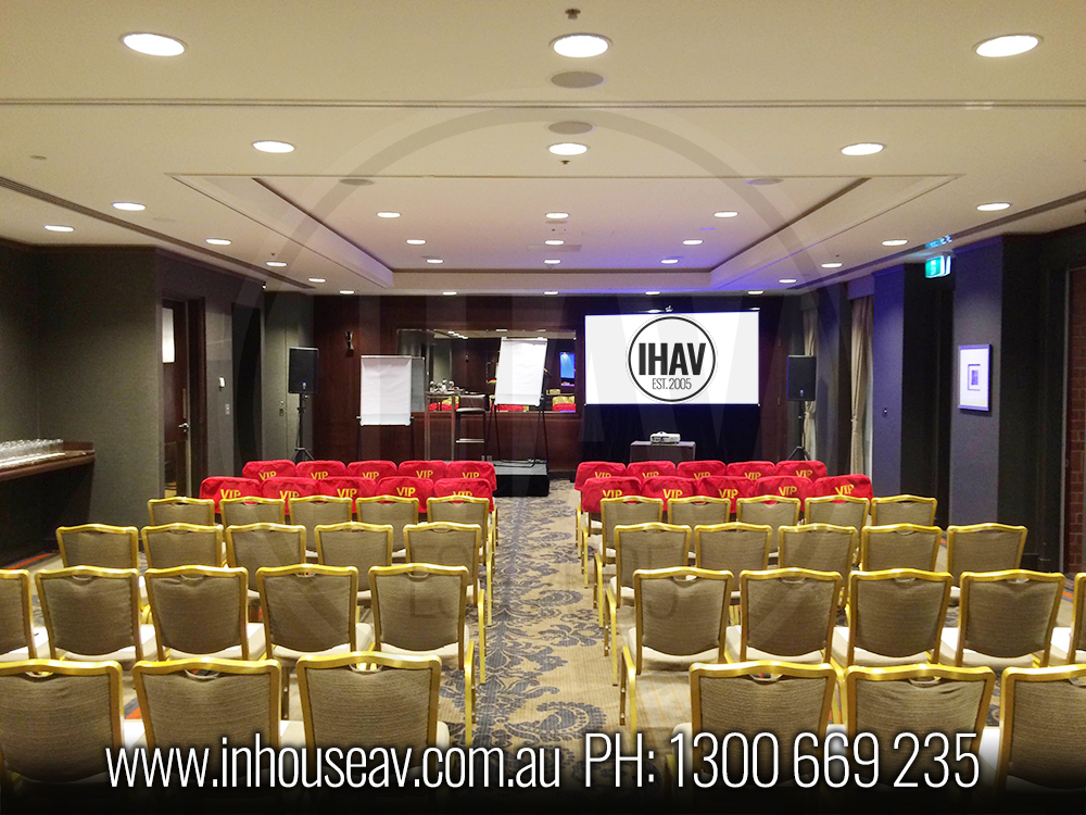Intercontinental Hotel Audio Visual Hire 1 Inhouse Audio