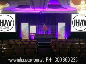 Langham Hotel Melbourne audio visual hire
