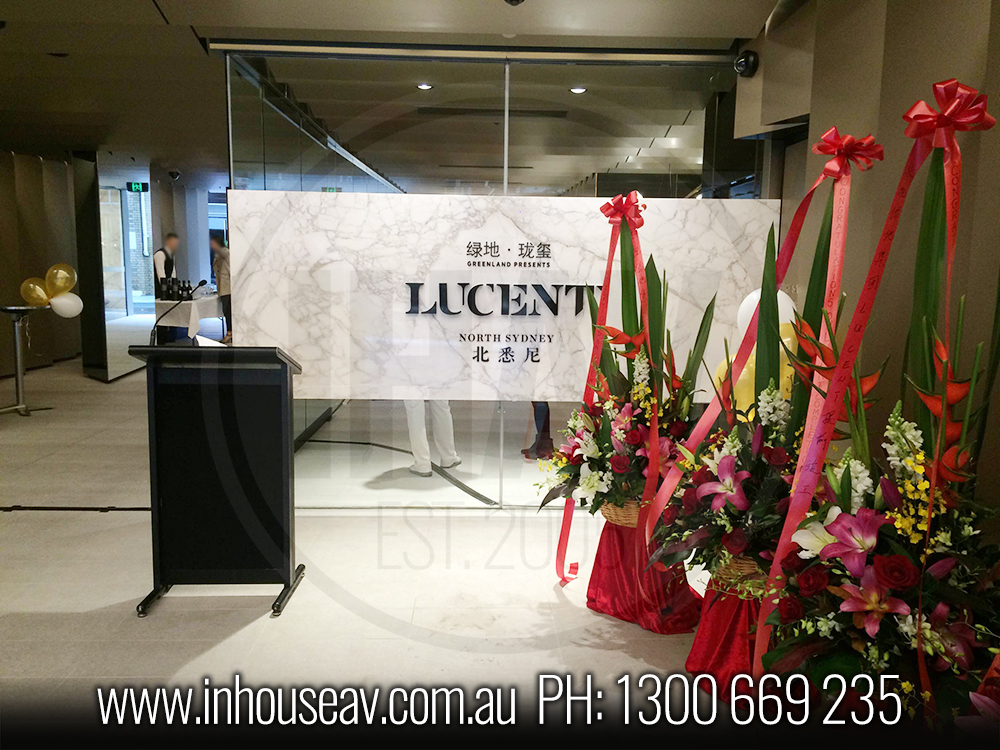 Lucent North Sydney Audio Visual Hire