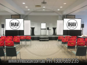Mantra Mooloolaba Projection Screen Hire