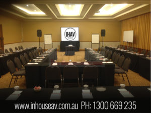 Marriott Surfers Paradise audio visual hire