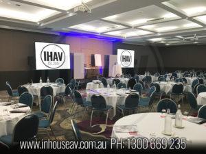 Mercure Brisbane Projection Screen Hire