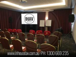 Mercure Gold Coast Projection Screen Hire