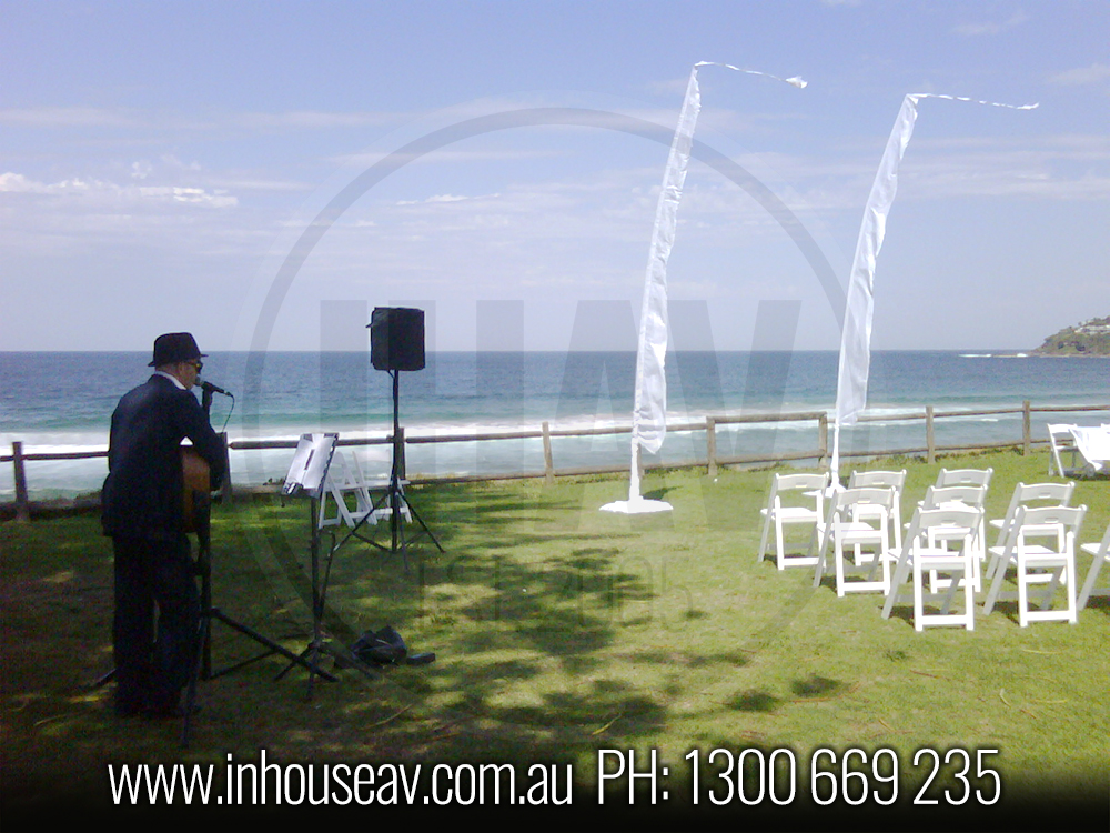 palm beach wedding audio visual hire 1 inhouse audio visual