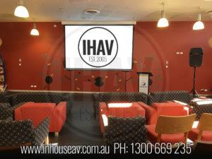 Sanofi Brisbane Projection Screen Hire
