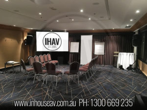 Sofitel Brisbane Concorde Room Projector Hire