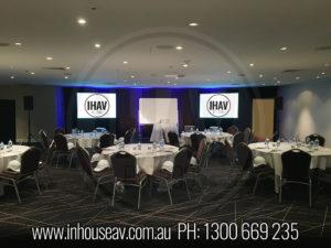 Sofitel Brisbane Projection Screen Hire