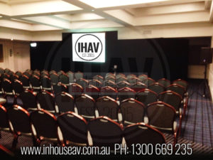 The Swiss Hotel Projector Hire