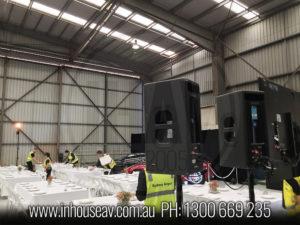 Sydney Airport Hanger Audio Hire