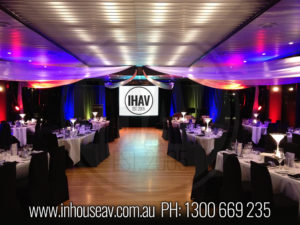 Sydney Starship Darling Harbour Projection Screen Hire