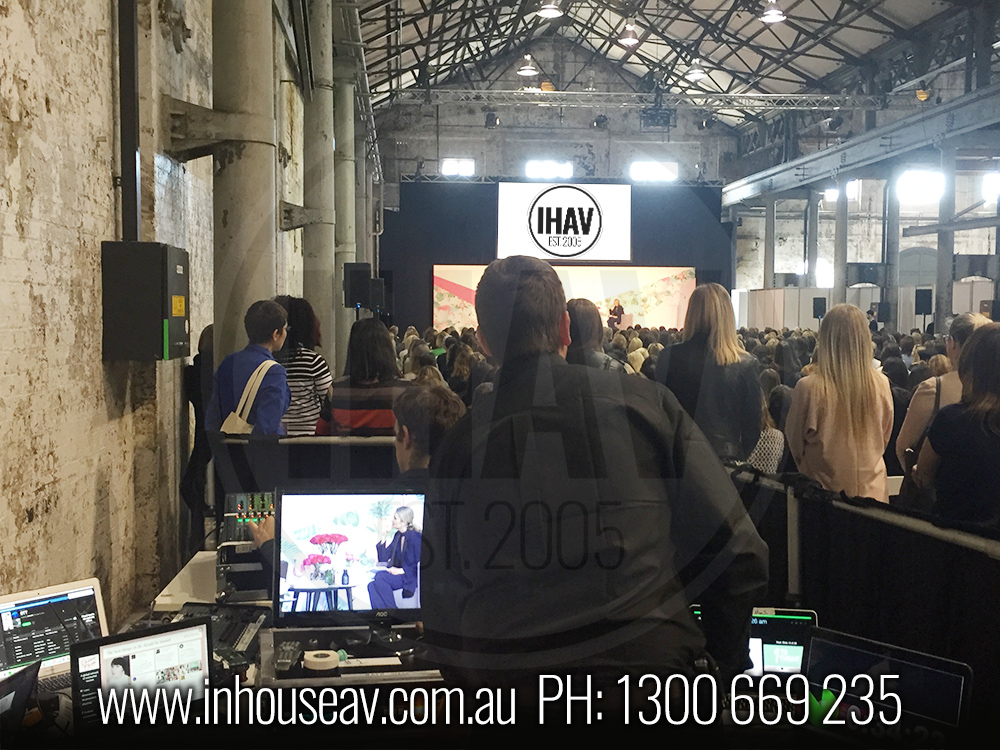 IHAV Behind The Scenes Audio Visual Hire 10
