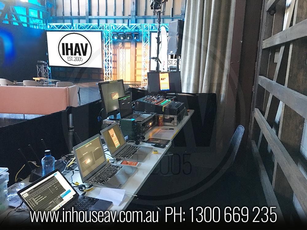 IHAV Behind The Scenes Audio Visual Hire 13