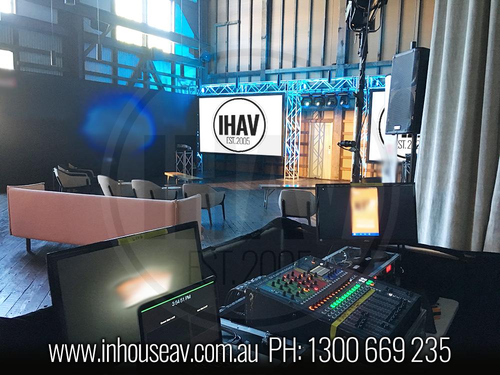 IHAV Behind The Scenes Audio Visual Hire 14