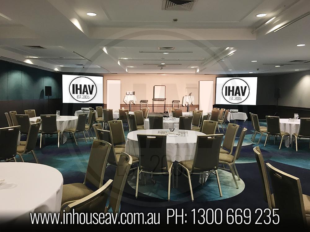 Pullman Brisbane Connaught Room Audio Visual Hire 4