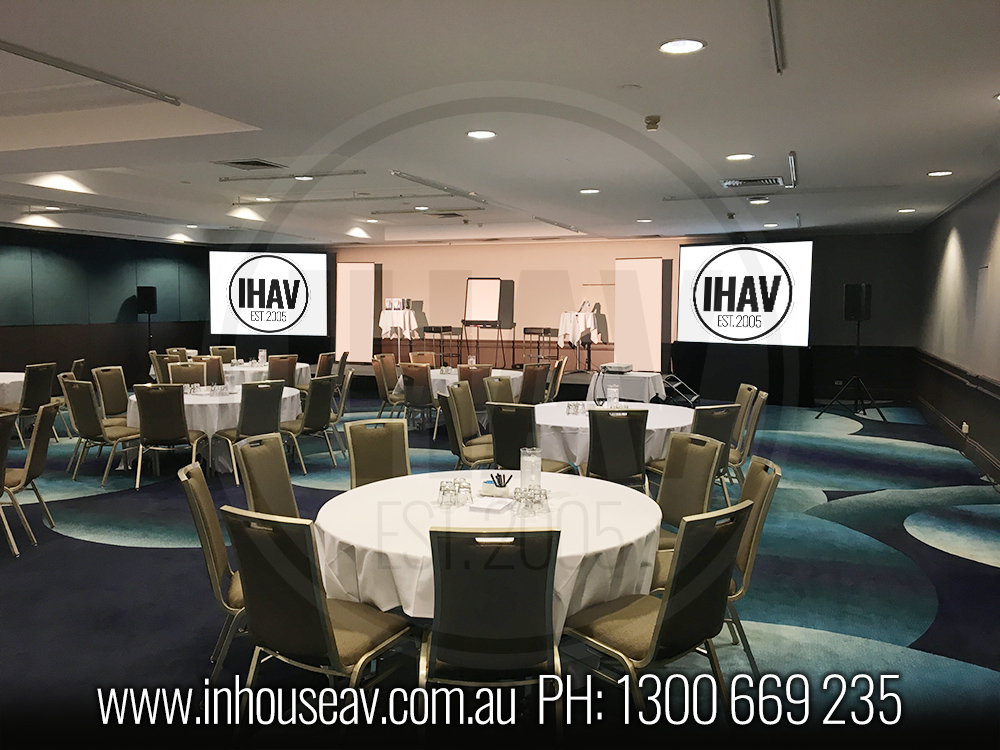 Pullman Brisbane Connaught Room Audio Visual Hire 6