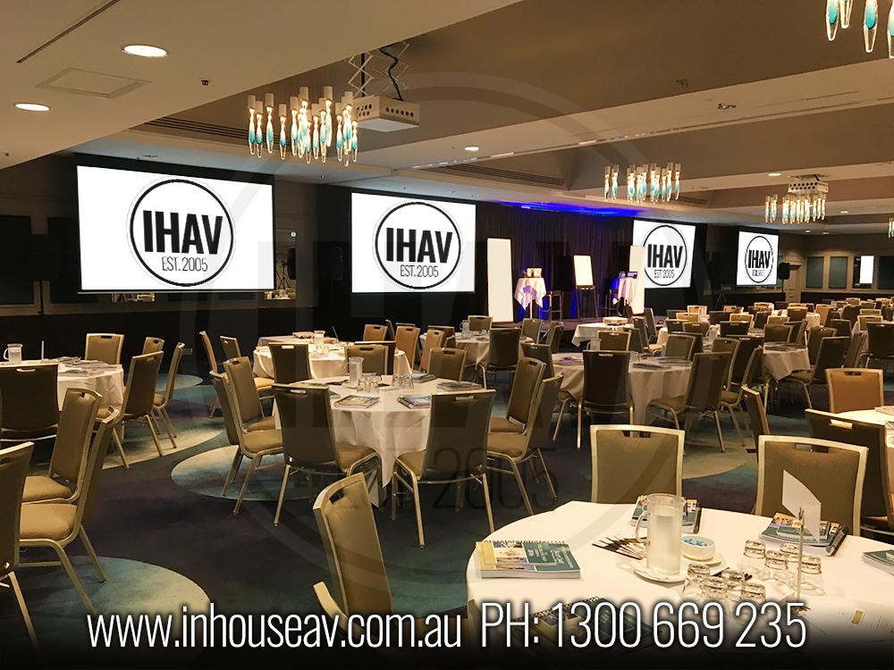 Pullman Brisbane King George Square - Presidential Ballroom Audio Visual Hire 6