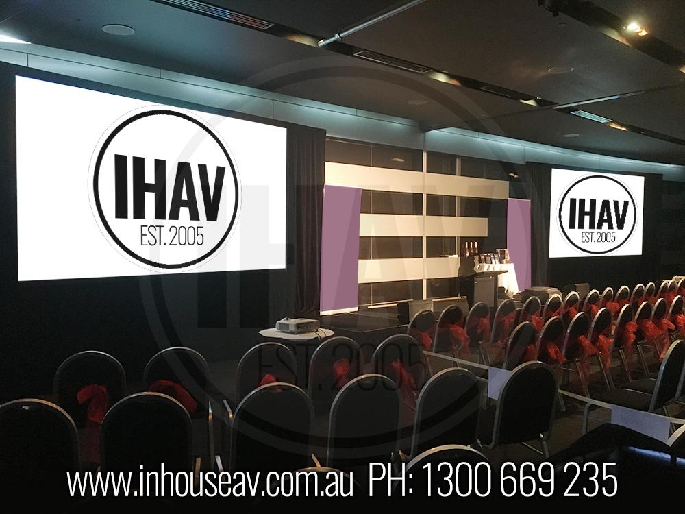 Q1 Resort & Spa Gold Coast - Ballroom level 2 Audio Visual Hire 1