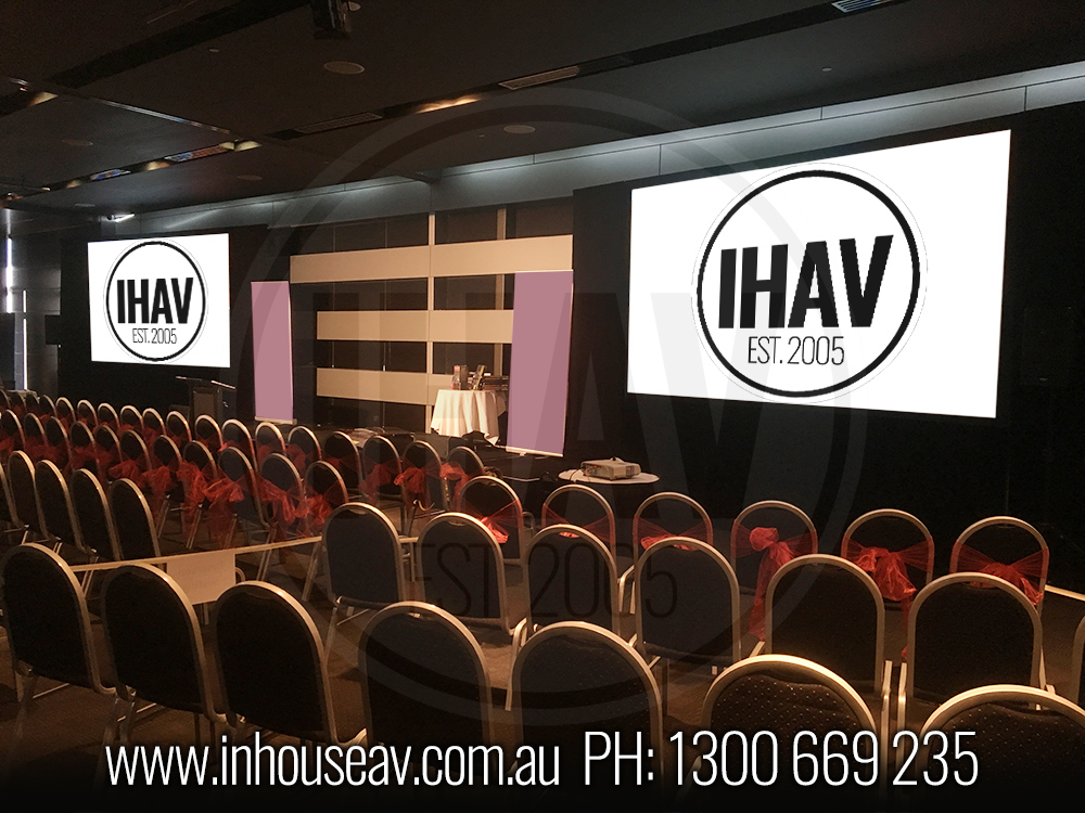 Q1 Resort & Spa Gold Coast - Ballroom level 2 Audio Visual Hire 2