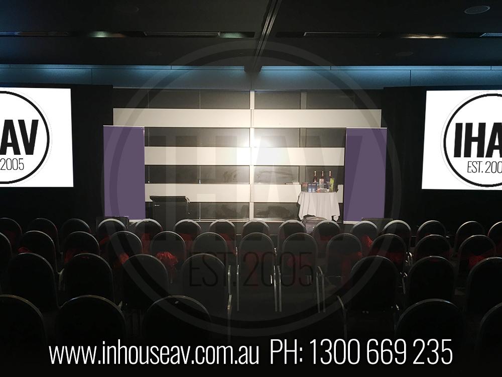 Q1 Resort & Spa Gold Coast - Ballroom level 2 Audio Visual Hire 3