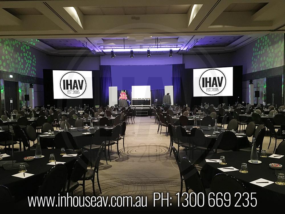 QT Gold Coast - Ballroom Audio Visual Hire 4
