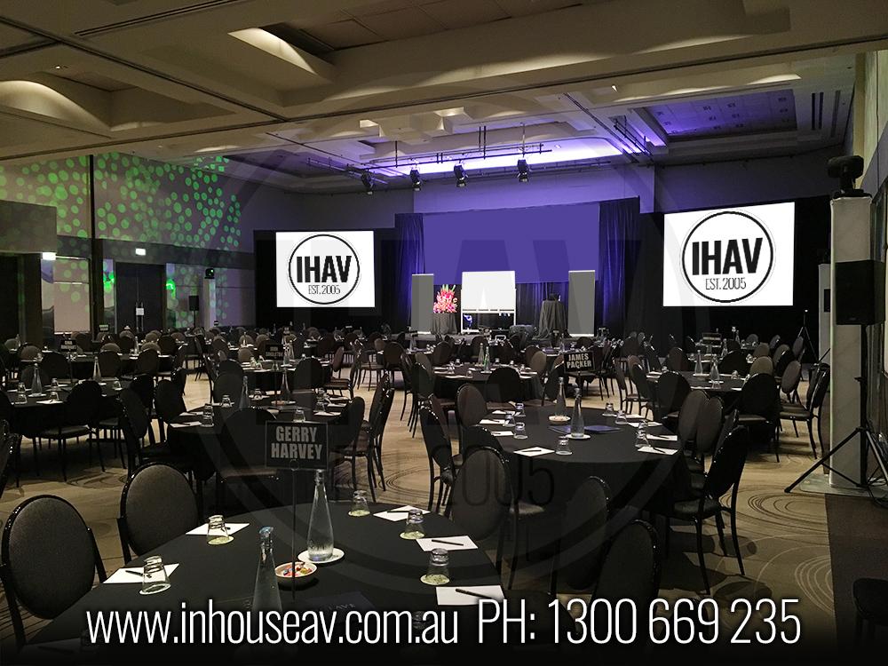 QT Gold Coast - Ballroom Audio Visual Hire 5