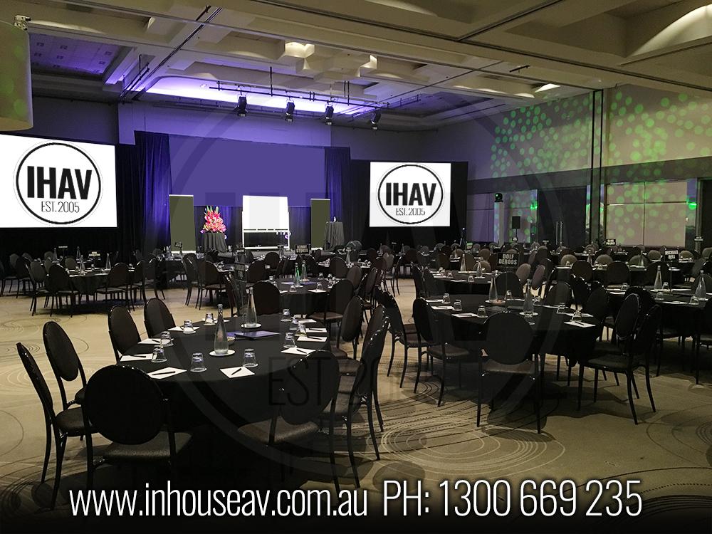 QT Gold Coast - Ballroom Audio Visual Hire 6